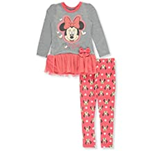 Minnie Mouse Little Girls' Toddler 2-Piece Outfit