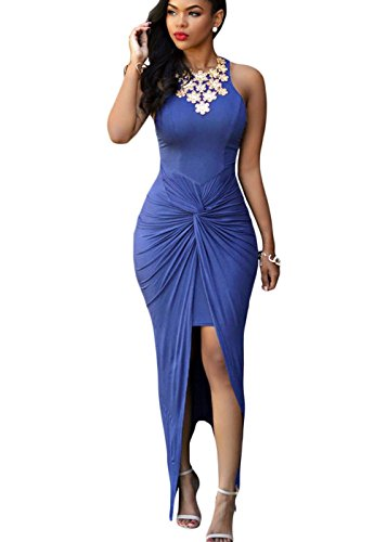 Women Asymmetrical Bodycon Cocktail Dress product image