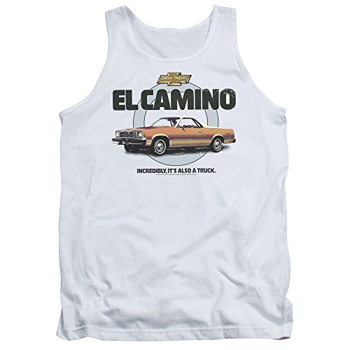 Tank Top: Chevy- El Camino Incredible Truck Size L (Chevrolet El Camino)