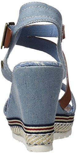 64292 Toe jeans blu Sandali Open Refresh dwzxYTvdq