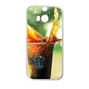 Coffee Starbucks design fashion cell phone case for HTC One M8