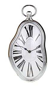 Salvador Dali Style Surrealist Melting Wall Clock Amazon