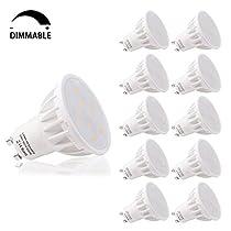 LOHAS® Bombillas LED Regulable 6Watt GU10 ,Equivalente a 50Watt