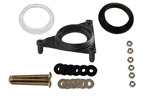 Complete Kit for Kohler GP51487-W/BOLTS Triangle Tank Gasket Kit for Most Two-Piece (Most Bolt)