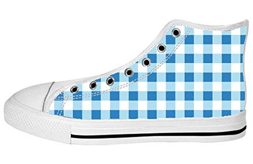Kvinnor Canvas Kängor Konstdesignmönster Shoes18