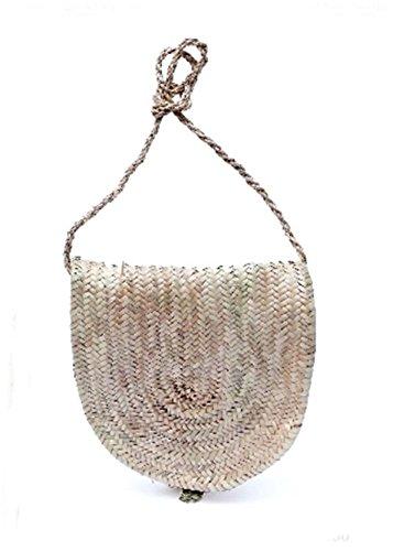The Welly Home Bolso de palma natural. Clasico bolso de palma con asa del mismo material. Colección Handmade SS2018. Hechos a mano. Bolso para el verano.