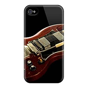 New Premium OYjChSJ4444AfFpe Case Cover For Iphone 4/4s/ Gibson Sg Guitar Protective Case Cover