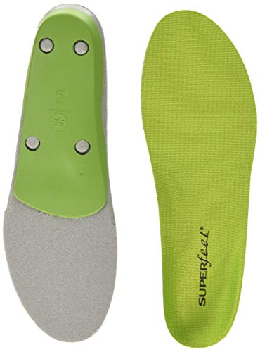 Superfeet GREEN Insoles, Professional-Grade High Arch...