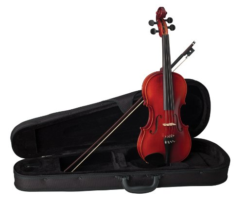 Becker 175C Prelude Violin Outfit 1/8, Red-Brown Satin by Becker