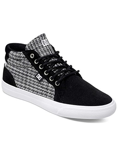 gris Pour Se Femme Chaussures blanc Noir Dc Adjs300059 hautes Shoes Council Mi RYfqfPw
