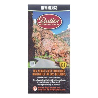 Butler Motorcycle Maps Mexico
