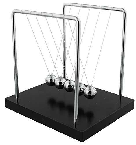 Newton'S Cradle Balance Balls Science Stress Relief Office Desktop Home 18Cm UK