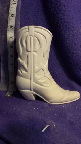 Cowboy Boot Vase 6 1/2