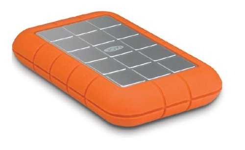 LaCie Rugged All-Terrain 500 GB FireWire 800/ FireWire 400/USB 2.0 Portable External Hard Drive 301371 -