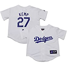 Matt Kemp Los Angeles Dodgers White Kids Authentic Home Replica Jersey