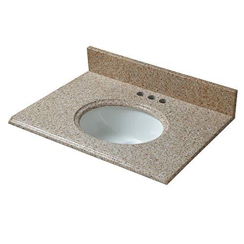 Granite Sink Bathroom Vanity Top - CAHABA CAVT0133 25