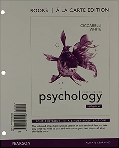 Amazon psychology books a la carte plus new mypsychlab with psychology books a la carte plus new mypsychlab with etext access card package 4th edition 4th edition fandeluxe Image collections