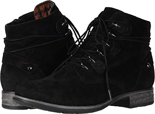 Earth Women's Boone Black Suede 9 B US