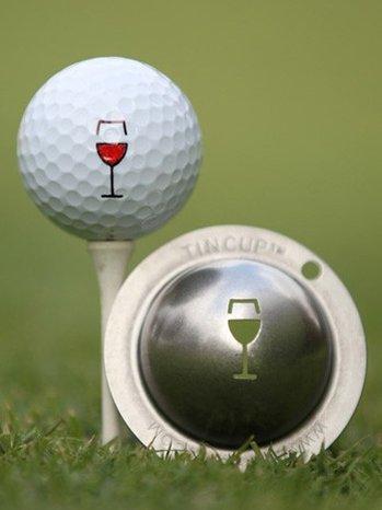 Tin Cup Napa Valley Golf Ball Marking Stencil, Steel