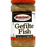 Manischewitz Jelled Gefilte Fish, 24 Ounce - 12 per case.