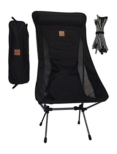 Ultra Light Weight Portable Outdoor Event Camping Motorcycle Beach Chair-Midnight Ultra Lounger
