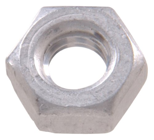 The Hillman Group The Hillman Group 1140 Aluminum Hex Nut 1/4-20 In. 34-Pack Aluminum Nuts Bolts
