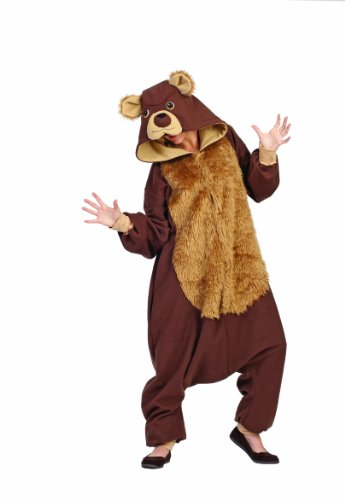 RG Costumes Men's Bailey Bear, Brown/Tan, One Size (Bear Costume Mens Teddy)