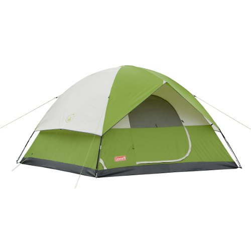 Coleman Sundome 6-Person Tent (Green, 10-Feet x 10-Feet), Outdoor Stuffs
