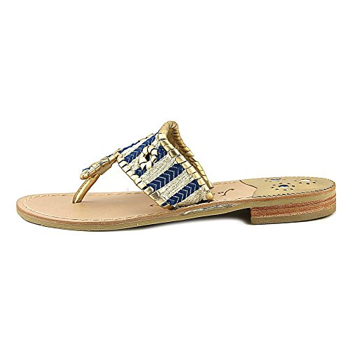 Sandal Jack Blue Flop Flip Rogers Gold Cici axIwIPr7vq