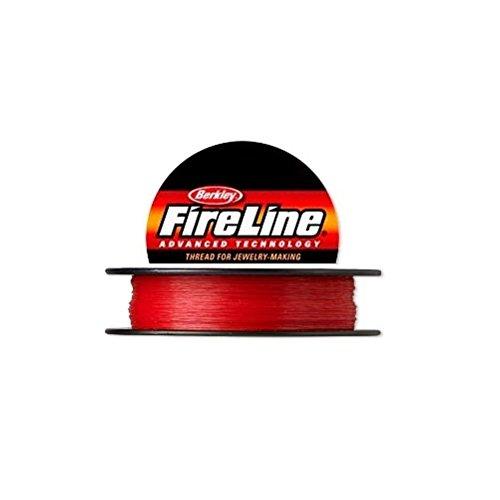 Berkley FireLine Polyethylene Thread Red 0.20mm diameter 50 yards / 45.7 meters -