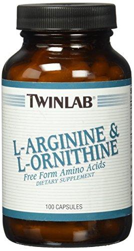 L-Arginine & L-Ornithine 750mg Twinlab, Inc 100 Caps
