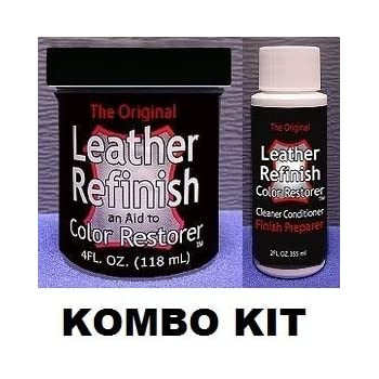 Amazon.com: Furniture Clinic Leather Re-Coloring Balm – Renew and ...