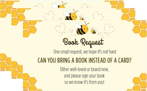 Mommy-to-bee Book Request Cards - 24 Count
