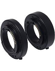 Venidice Meike Auto Focus AF Macro Extension Tube for Canon EOS M Mirrorless Camera+Venidice Cloth Negro Soporte de Pared para Pantalla Plana