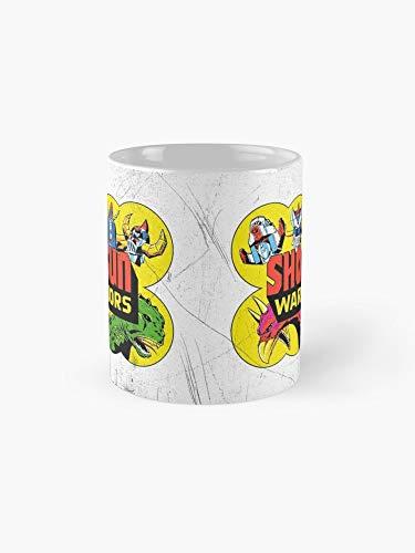 Shogun Warriors! 11oz Mug - Made from Ceramic - Best gift for family friends.