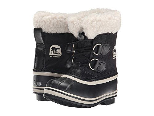 Sorel Yoot Pac Nylon Cold Weather Boot , Black, 11 M US Little Kid ()