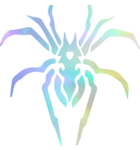 - NBFU DECALS Tribal Spider 4 (Hologram) (Set of 2) Premium Waterproof Vinyl Decal Stickers for Laptop Phone Accessory Helmet Car Window Bumper Mug Tuber Cup Door Wall Decoration