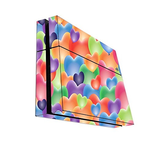 sticker-skin-print-pastel-colored-hearts-random-pattern-printed-design-playstation-4-ps4-console-vin