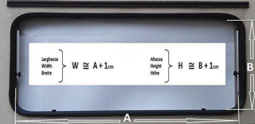 Vielseitig Fenster Bronze WxH 1300x550 Wohnmobil Caravan Wohnwagen Zubeh/ör