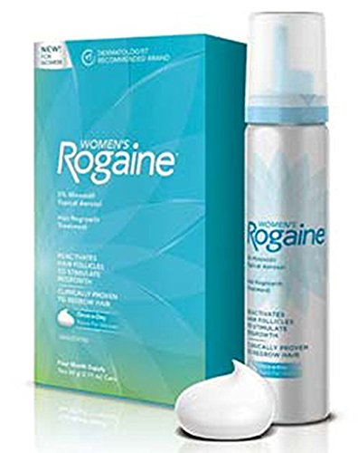 Women's Rogaine Hair Regrowth Treatment Foam, 4 Month Supply by Rogaine (Image #3)