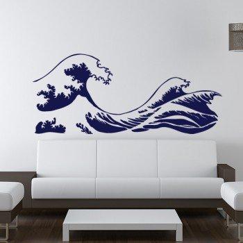 Kanagawa Wave Wall Decal Vinyl Sticker Hokusai & Amazon.com: Kanagawa Wave Wall Decal Vinyl Sticker Hokusai: Home ...