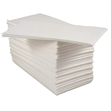 Pack Of  Luxury White Paper Airlaid Disposable Paper Hand Towels