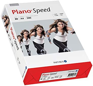 2500x Papier A4 80g Kopierpapier Druckerpapier Tinte Fax Multispeed Plano Speed Weiß