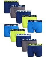 B.U.M. Equipment Boys 10 Pack Solid Boxer...