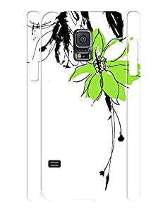 Trendy Collection Mobile Phone Case With Graffiti Floral Print Slim Fit Case Cover for Samsung Galaxy S5 Mini SM-G800 wangjiang maoyi