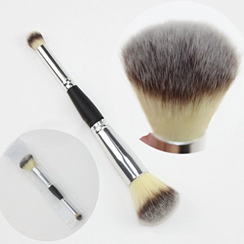 Portable Professional Double-Headed Makeup Brush Blush Eye Shadow Beauty Tools (Best Nars Eyeshadow Duo For Green Eyes)