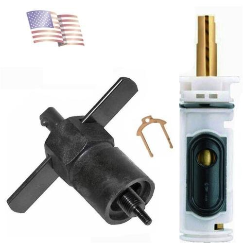 (H&H) REPLACEMENT KIT FOR MOEN 1222 / 1222B CARTRIDGE SHOWER WITH USA PULLER TOOL