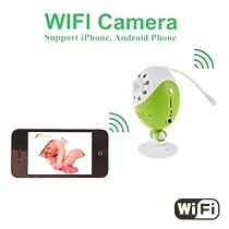 8 LED Light WIFI DVR spy hidden Camera Point-to-point VGA/QVGA Night vision 5V