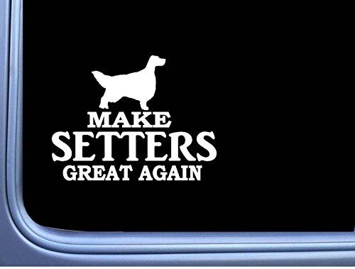 English Setter Maga L739 Dog Gordon Irish Sticker 7