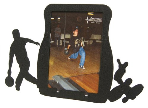 Male Bowling 3X5 Vertical Picture Frame